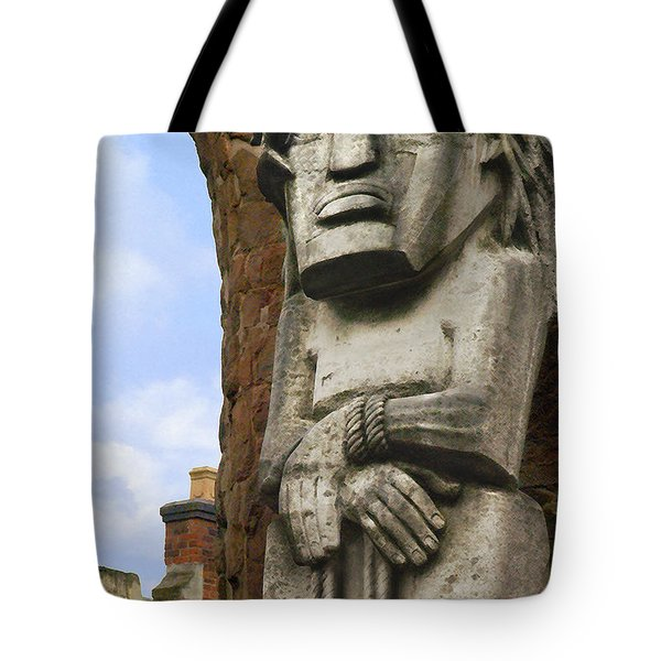 The Man Tote Bag by Mike McGlothlen