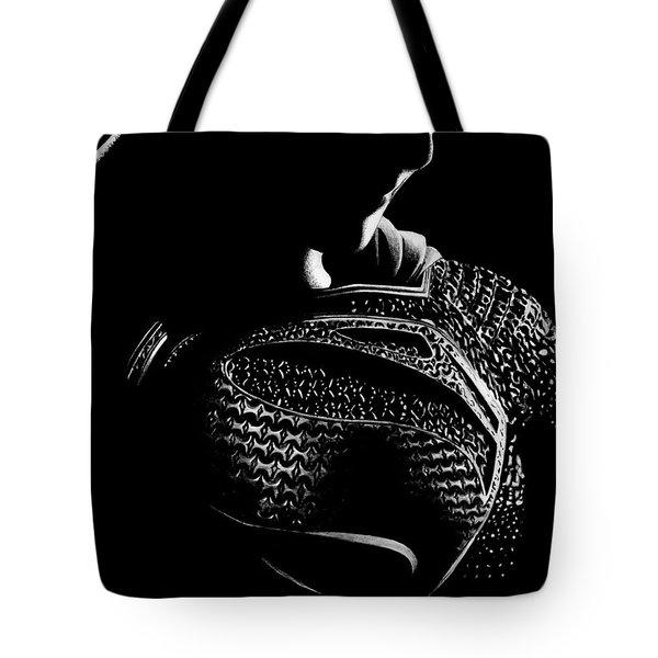 The Man Of Steel Tote Bag by Kayleigh Semeniuk