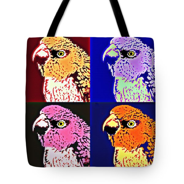 The Many Faces Of Taz Tote Bag