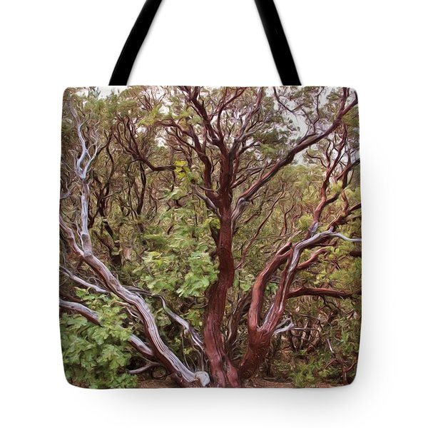 The Manzanita Tree Tote Bag