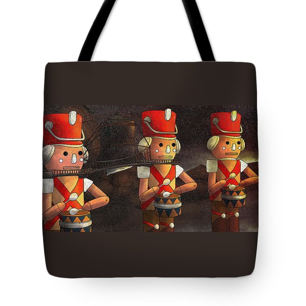 The March Of The Wooden Soldiers Tote Bag
