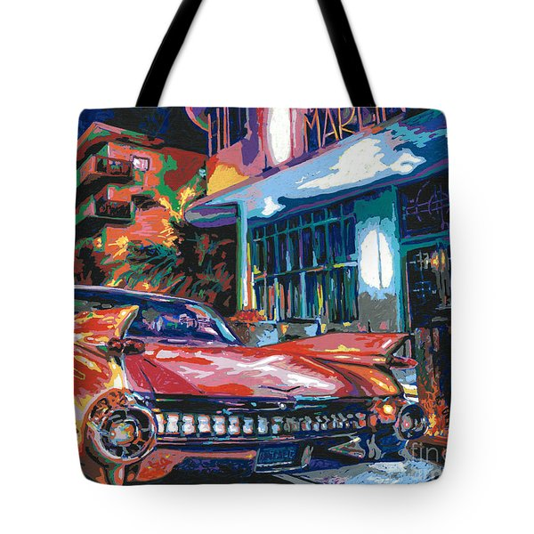 The Marlin Hotel Tote Bag by Maria Arango