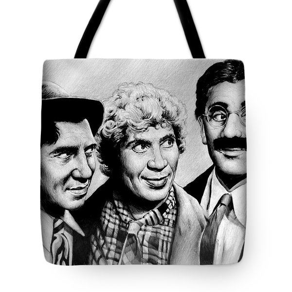The Marx Brothers Tote Bag by Andrew Read