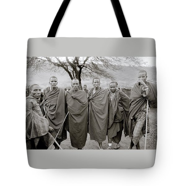 The Masai Tote Bag by Shaun Higson