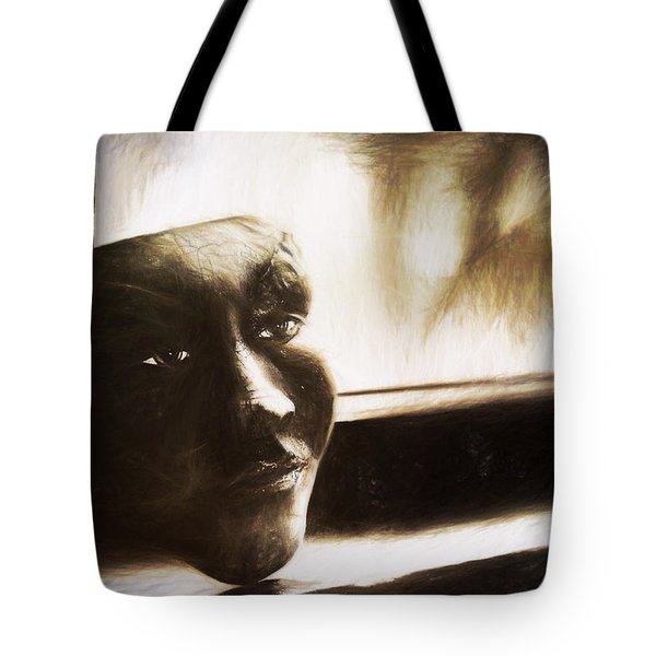 The Mask Sketch Tote Bag