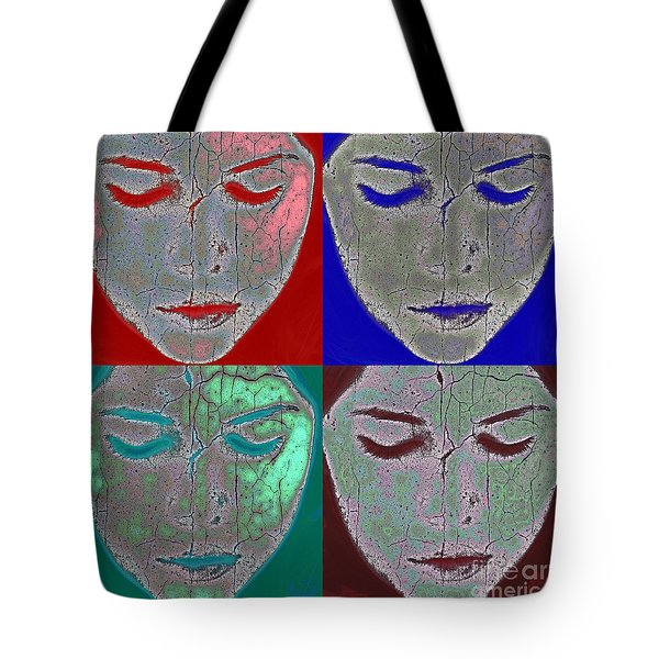 The Mask Tote Bag by Stelios Kleanthous