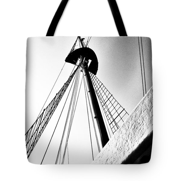 The Mast Of The Peacemaker Tote Bag