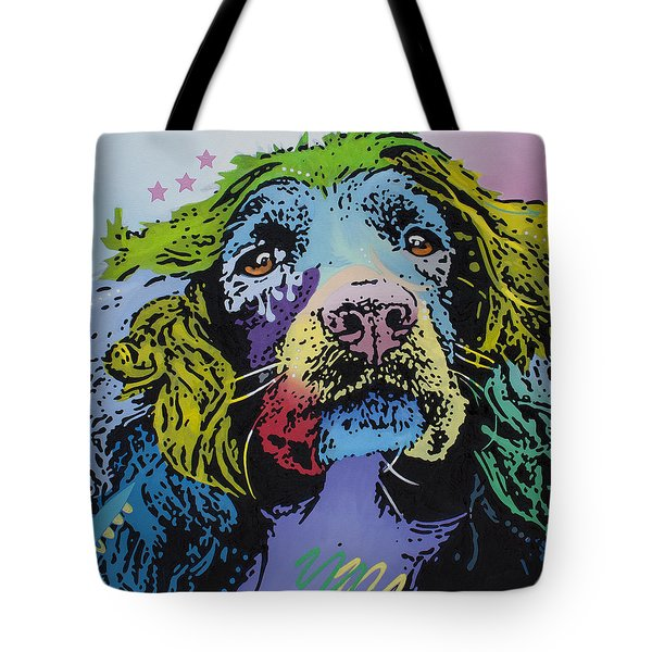 Tote Bag featuring the painting The Master Of Game by Luis Ludzska