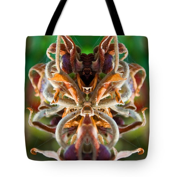 Tote Bag featuring the photograph The Mating by WB Johnston
