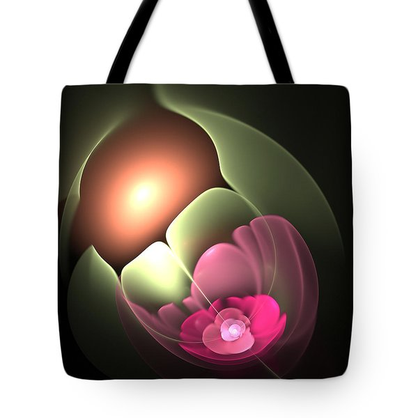 The Matrix Of Life Tote Bag by Svetlana Nikolova