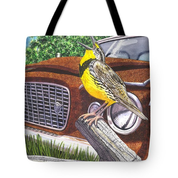 The Meadowlarks Tote Bag