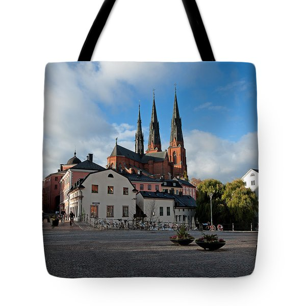 The Medieval Uppsala Tote Bag by Torbjorn Swenelius