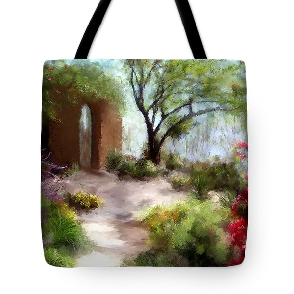 The Meditative Garden  Tote Bag by Colleen Taylor