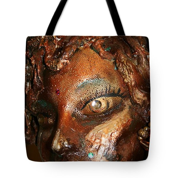 The Medusa Snare  Tote Bag by Avonelle Kelsey