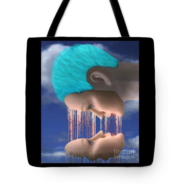 The Melding Tote Bag by Keith Dillon