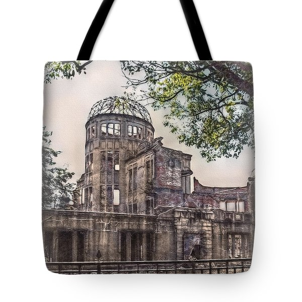 Tote Bag featuring the photograph The Memorial by Hanny Heim