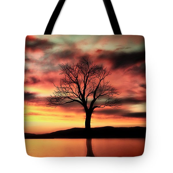 The Memory Tree Tote Bag by Ally  White