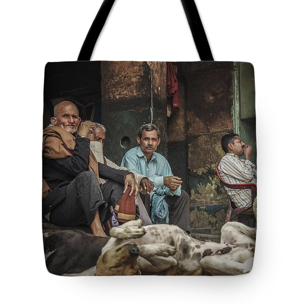 The Men Mourn Tote Bag