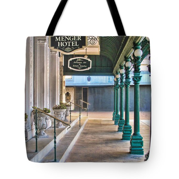 The Menger Hotel In San Antonio Tote Bag