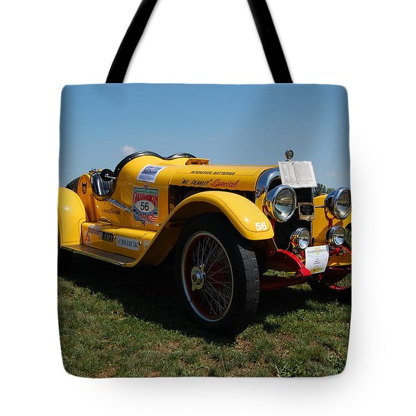 The Mercer Raceabout Roadster Tote Bag