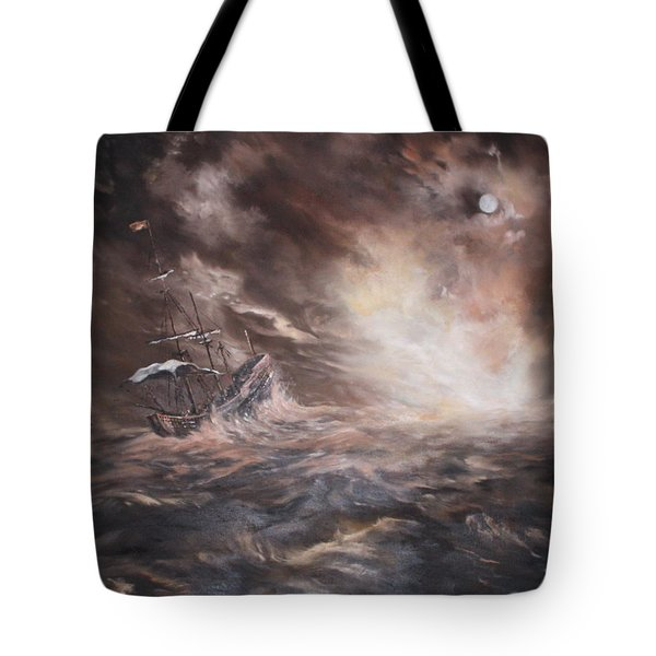 Tote Bag featuring the painting The Merchant Royal by Jean Walker