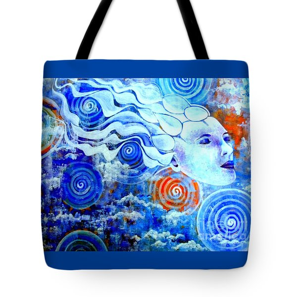 The Merging Tote Bag by Julie  Hoyle