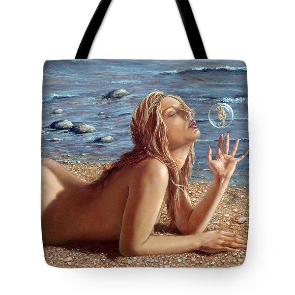 The Mermaids Friend Tote Bag