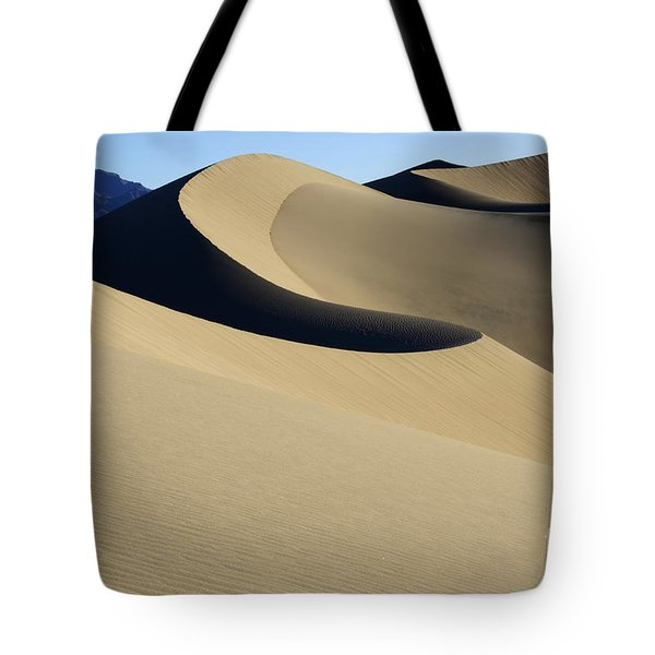 The Mesquite Dunes Of California Tote Bag by Bob Christopher