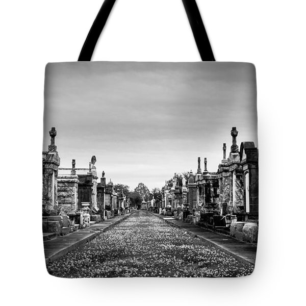 The Metairie Cemetery Tote Bag by Tim Stanley