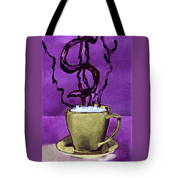 Tote Bag featuring the painting The Midas Cup by Paula Ayers