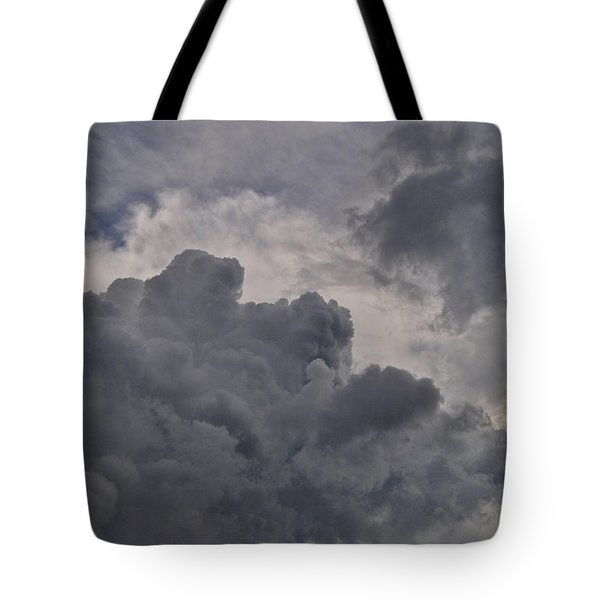 The Mighty Hand Of God Tote Bag by Paulette B Wright