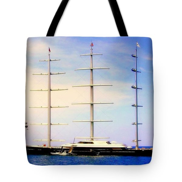 The Mighty Maltese Falcon Tote Bag by Karen Wiles