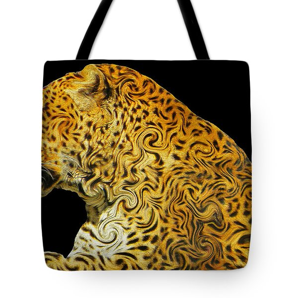 The Mighty Panthera Pardus Tote Bag