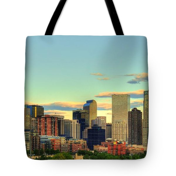 The Mile High City Tote Bag