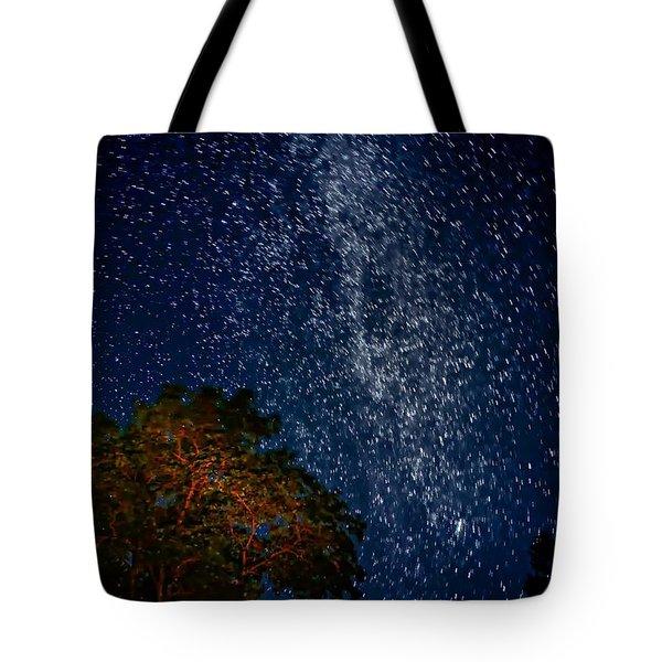 The Milky Way 2 Tote Bag by Steve Harrington