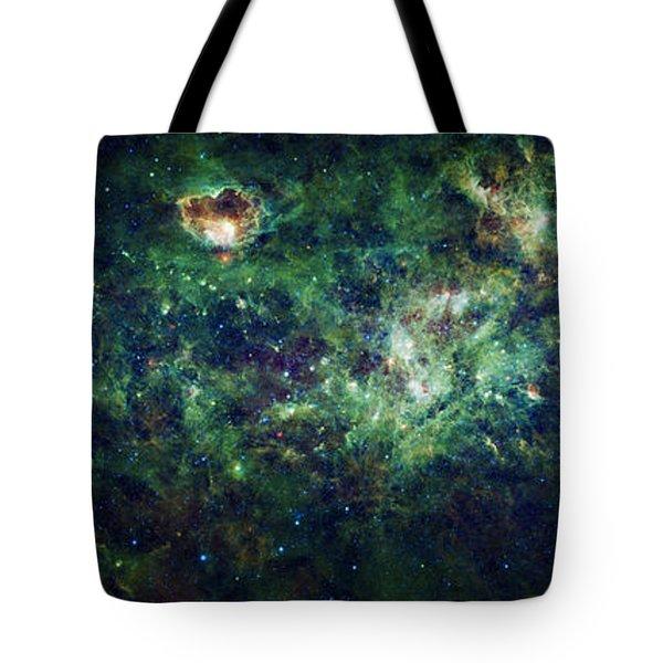 The Milky Way Tote Bag by Adam Romanowicz