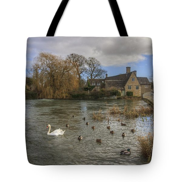The Millhouse At Fairford Tote Bag
