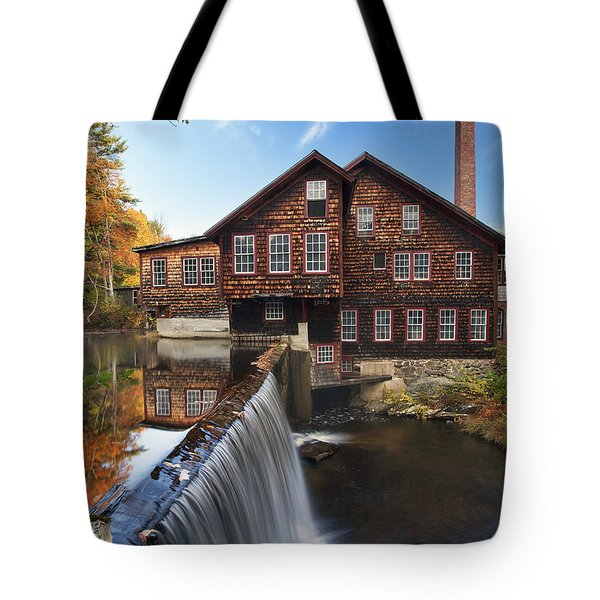 The Mills Tote Bag by Eric Gendron