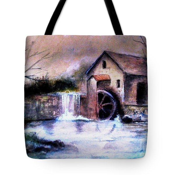 The Millstream Tote Bag by Hazel Holland