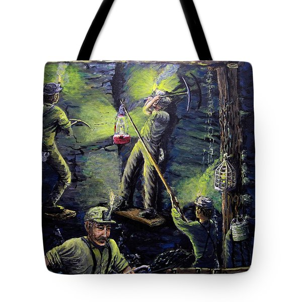 The Miners Way Tote Bag
