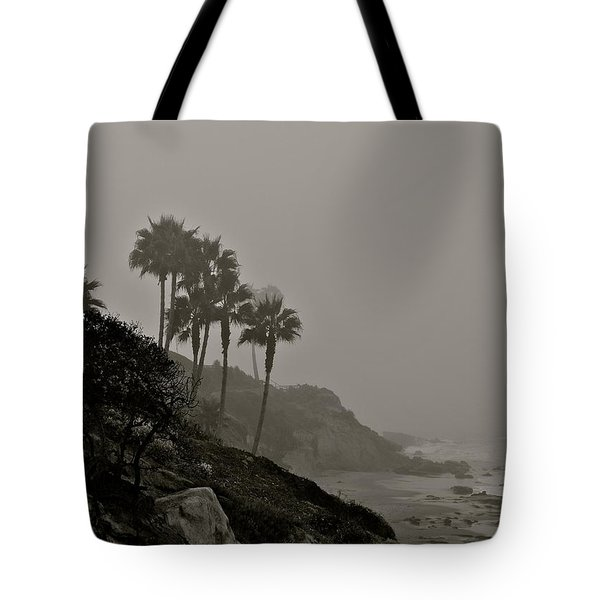 The Mists Of Laguna Beach Tote Bag by Kirsten Giving