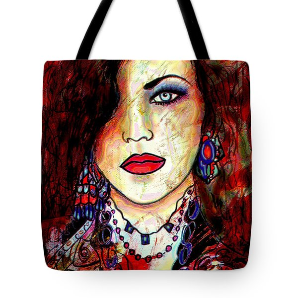 The Model Tote Bag by Natalie Holland