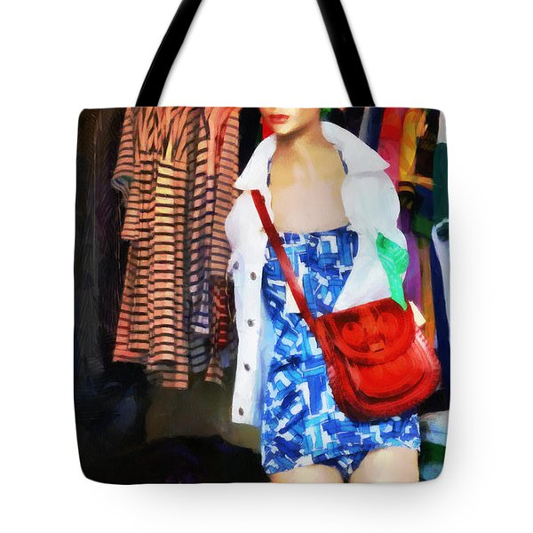 The Model Tote Bag by Steve Taylor
