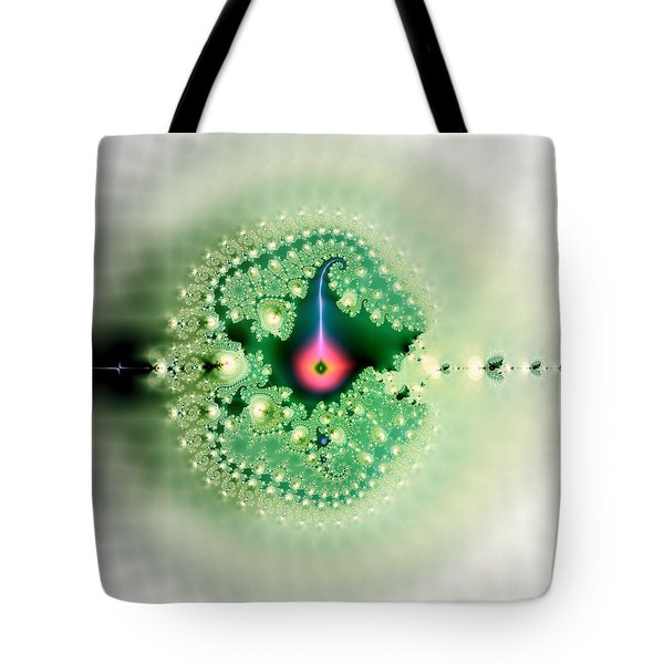 The Moment Of Conception Tote Bag by Renee Trenholm