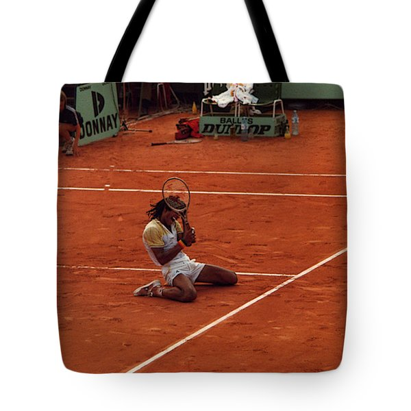 The Moment Of Victory Tote Bag by Scarebaby Design