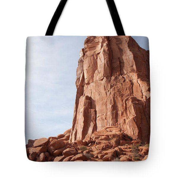 Tote Bag featuring the photograph The Monolith by John M Bailey