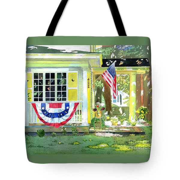 The Moon House Tote Bag by LeAnne Sowa