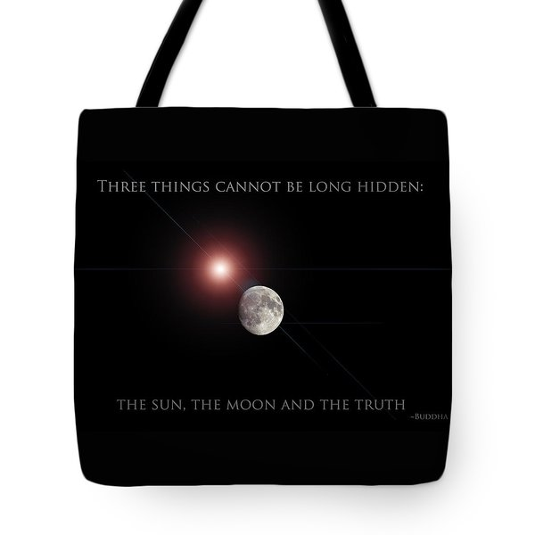 Tote Bag featuring the photograph The Moon by Pennie  McCracken