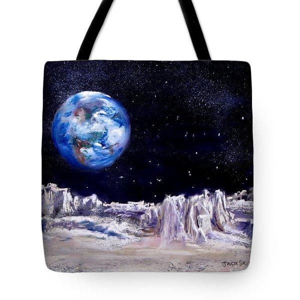 The Moon Rocks Tote Bag by Jack Skinner