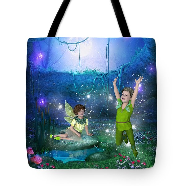The Moonlight Fairies Tote Bag